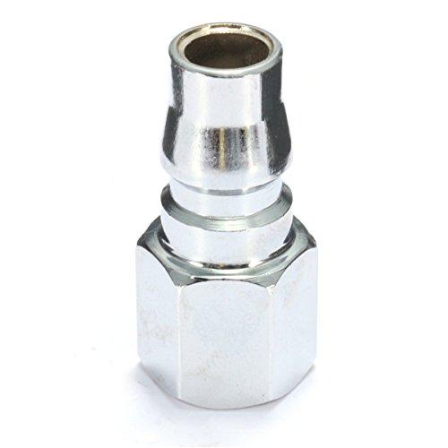MYAMIA 10Pcs Steel 1//4Inch Bsp Adaptateur dair Comprim/é Tuyau DAccouplement Rapide