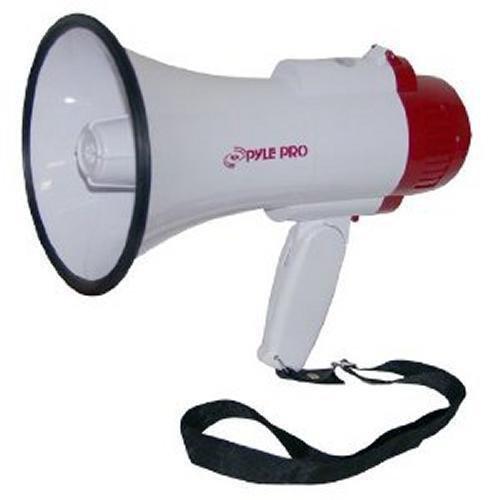 Pyle PMP30 Handheld Megaphone Loudspeaker Horn Indoor//Outdoor with Siren
