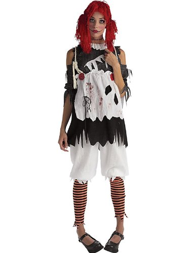 Rag Doll Girl Adult Womens Costumes (Adult Rag Doll Girl Costume, Ladies Large (Dress sizes 14-16))