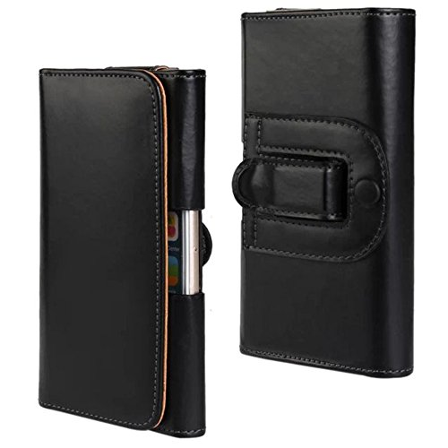 Idol Smooth Genuine Leather Case Phone Holster Waist Bag Carrying Pouch Holder With Belt Clip For iPhone 3 4 4s 5 5s 5C Samsung S2 9100 Huawei HTC (4.0inch)