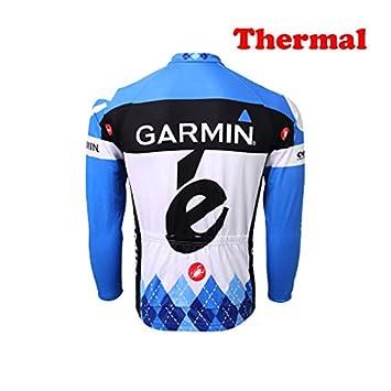 ORD Herren Fahrrad Trikot MTB Fahrradbekleidung Fahrradtrikot Radsport Radfahren Winter Thermal Langarm Radjacke Jacke