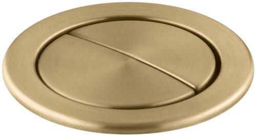 Kohler K-9384-BGD Dual Flush Actuator, Vibrant Moderne Brushed Gold