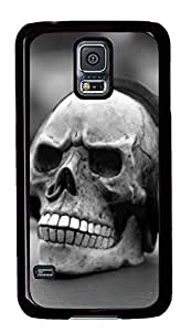 Samsung Galaxy S5 Skull Earphones PC Custom Samsung Galaxy S5 Case Cover Black
