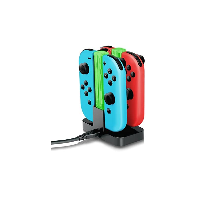 Joy-Con Charger,YockTec Nintendo Switch