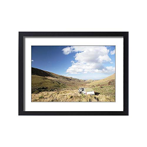 (Media Storehouse Framed 24x18 Print of 4X4, Cloud, Color Image, Day, Eastern Cape, Featherstone Kloof (18252283))
