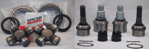 U FORD 98-04 F250 F350 SUPERDUTY DANA 50//60 FRONT AXLE SEALS BALL JOINTS KIT