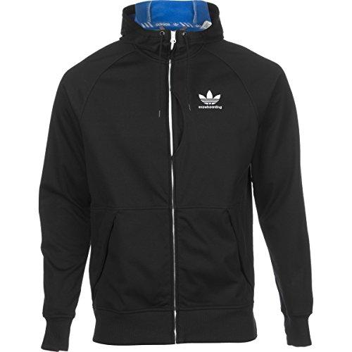 Adidas Mens Snow Bonded Hoodie Black L