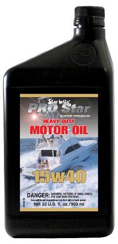 [Star brite Pro Star Super Premium Heavy Duty Motor Oil SAE 15W 40 - 32 oz] (Sae Oil Specifications)