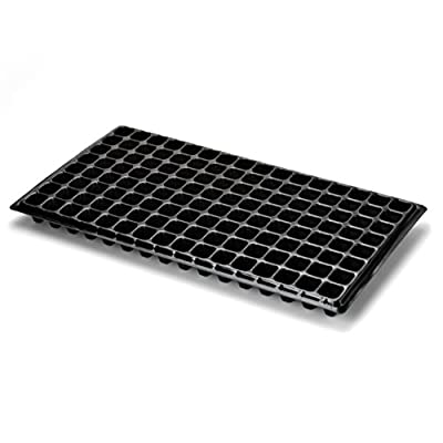 Extra Strength 128 Cell Seedling Starter Trays for Seed Germination, Plant Propagation, Soil & Hydroponics, Growing Trays, Planting Starter Plugs by Bootstrap Farmer