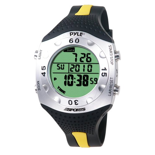 PYLE-SPORTS Advanced Dive Meter With Water Depth, Temperature, Dive Logand Auto EL Backlight ()
