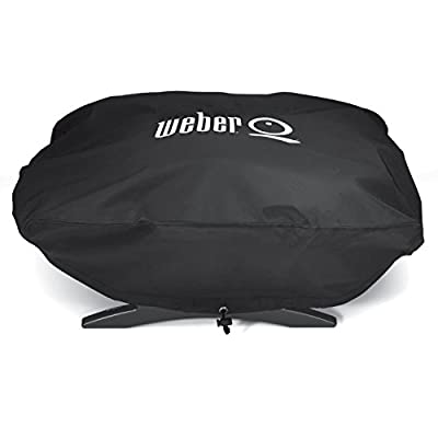 Weber 6550 Vinyl Cover for Weber Baby Q Q-100 and Q-120 Grills New