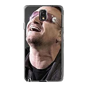Great Hard Phone Cases For Samsung Galaxy Note3 (MkT7925oLSK) Provide Private Custom Fashion U2 Pictures WANGJING JINDA