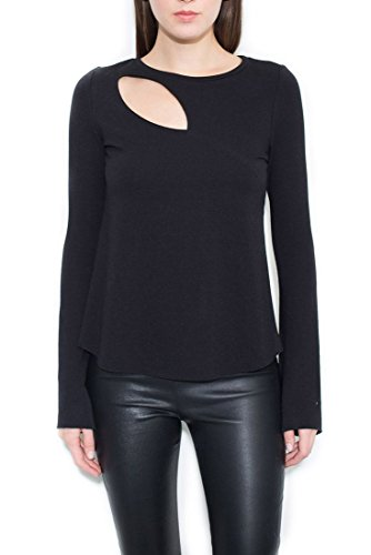 Generation Love Carla Cut Out Top - Black - M by Generation Love