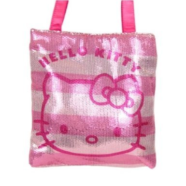 Hello Kitty Sequins Tote (Pink)