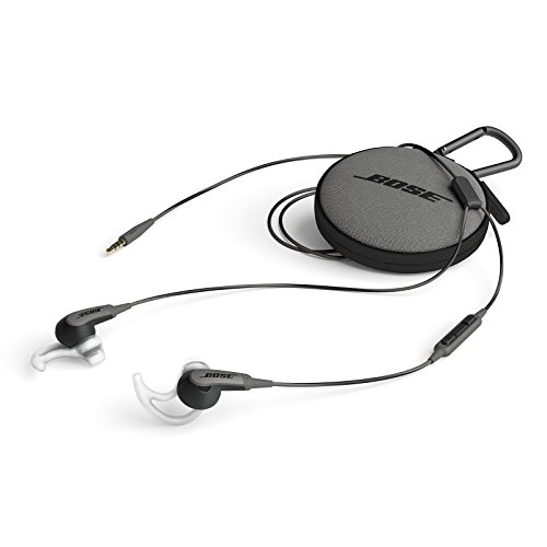 Bose SoundSport In-Ear Headphones, 3.5mm Connector for Apple Devices - Charcoal