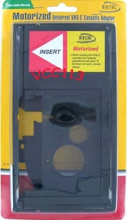 Digital Concepts VC16 Motorized Vhsc VHS-C TO VHS Adapter Discontinued by Manufacturer