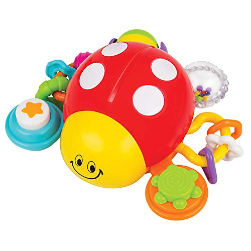 KiddoLab Lilly The Bug, Press & Crawl Musical Activity Toy. Ladybug Baby Nursery Early Development Toy. Toddler Crawling Toys for Learning, Educational Toys Series. Ages 6 Months and Up