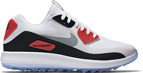 a86f308d419f47 Nike Air Zoom 90 IT Golf Shoes 844569-101 - White Grey Black - 7 - Medium -  Buy Online in Oman.