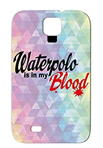 Waterpolo Red TPU Shatterproof Miscellaneous Water Polo Sports Case For Sumsang Galaxy S4