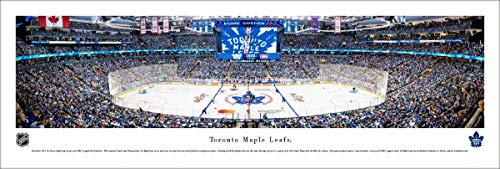 Toronto Maple Leafs Hockey - Unframed NHL Poster by Blakeway Panoramas