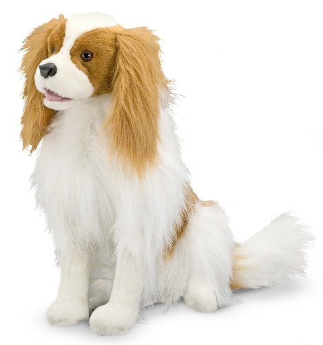 Plush Cavalier King Charles Spaniel Stuffed AnimalMelissa & Doug