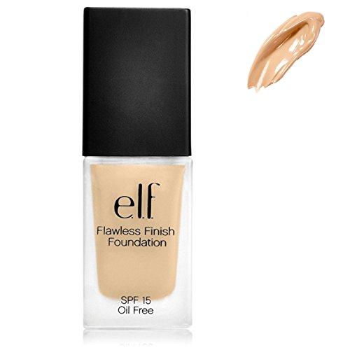 E.L.F. Cosmetics, Flawless Finish Foundation, SPF 15, Oil Free, Sand, 0.8 oz (23 g) - 2pc