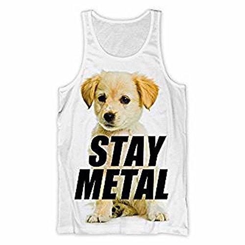 MISS MAY I - Puppy (Stay Metal) - offizielles Damen Unterhemd (T-Shirt)