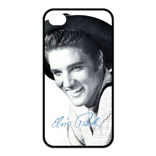 Fayruz- Elvis Presley Protective Hard TPU Rubber Cover Case for iPhone 4 / 4S Phone Cases A-i4K223
