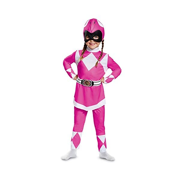 Power Rangers Pink Ranger Mighty Morphin Classic Costume For Toddlers