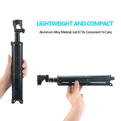 Eocean Selfie Stick Tripod, 54 Inch Adjustable iPhone Tripod, Extendable Camera Tripod for Cellphone and Camera, with Wireless Remote for iPhone 8/8 Plus/X/7/7 Plus/Galaxy/Google by Eocean (Image #7)