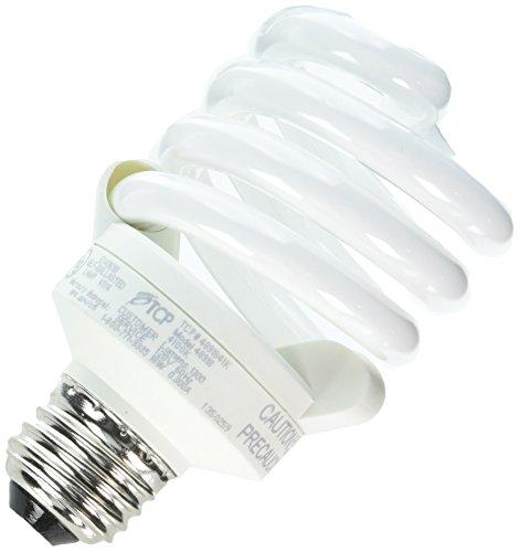 (TCP 4891841k CFL Pro A - Lamp - 75 Watt Equivalent (18W) Cool White (4100K) Full Spring Lamp Light Bulb)
