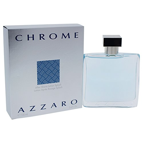 Chrome By Loris Azzaro For Men. Aftershave 3.4 (Azzaro Mens Discount Fragrance)