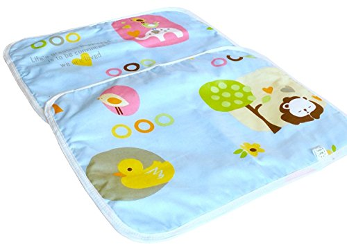 2 Pack - Changing Pads Waterproof Baby Diaper Changing Mat by Lucky Goods