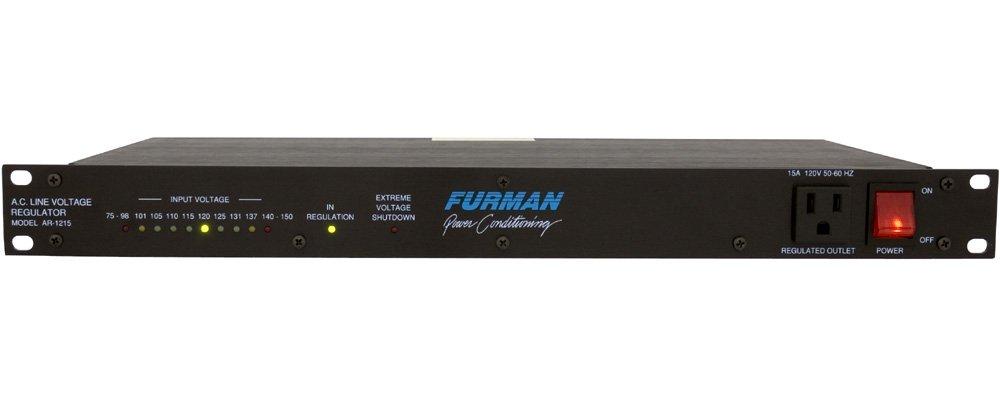 B000YZ46E2 Furman AR-1215 Standard Level Voltage Regulator, Power Conditioner, 120 Volt, 15 Amp 41A2BEwqsmWL._SL1000_