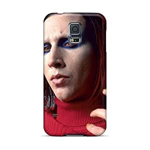 Samsung Galaxy S5 PNN9822GTev Support Personal Customs Stylish Marilyn Manson Band Series Protector Hard Phone Cover -AshleySimms