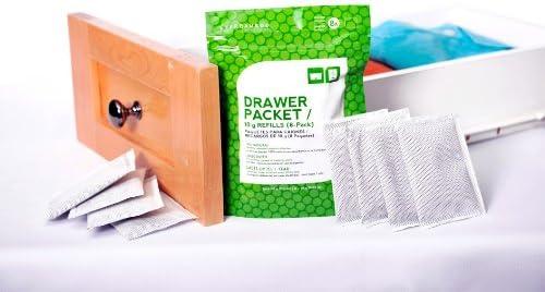 Dehumidifier All Natural Drawer Packet Charcoal Bamboo Deodorizer