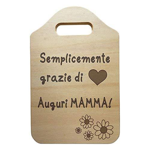 Tagliere Decorativo Personalizzato Idea Regalo Festa Della Mamma