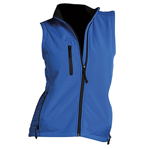 Rallye Giacca Donna Reale Sols Maniche Blu Softshell Senza dq4ZUP