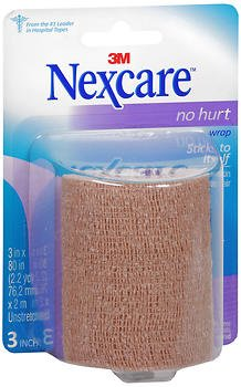 Nexcare No Hurt Wrap, 1 Each (Pack of 3) (Wrap Athletic Nexcare)
