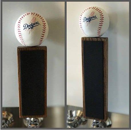 la dodgers beer tap handle - 8