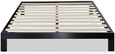 Zinus Arnav Modern Studio 10 Inch Platform 2000 Metal Bed Frame / Mattress Foundation / No Box Spring Needed / Wooden Slat Support / Good Design Award Winner, Queen 41A 2BFpmd4mL