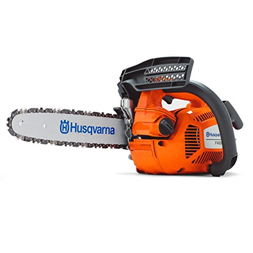 Husqvarna T435 12-Inch 35.2 cc X-Torq Gas Powered Chainsaw