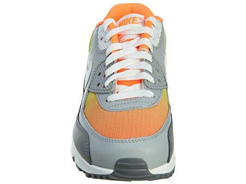 Nike Air Max 90 Prem Mesh (GS) Zapatillas de running, Niños Naranja / Blanco / Gris (Total Orange / White-Vlt-Wlf Gry)