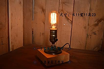 Table Lamps Home Lámpara de Mesa-Eddie Retro para Hacer el ...