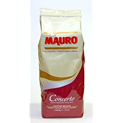 Caffe Mauro - Concerto Coffee Beans 2.2lb (2 Pack)