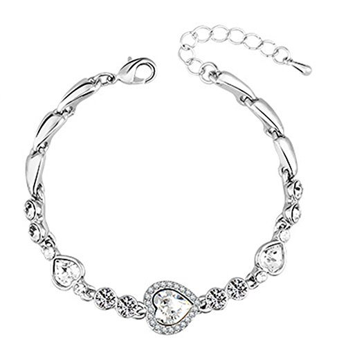 (My.Monkey Fashion High-Grade Girl Heart Design Bracelet(C1))