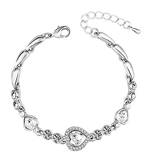 My.Monkey Fashion High-Grade Girl Heart Design Bracelet(C1)