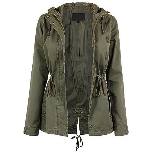 Olive Green Jacket Amazon Com