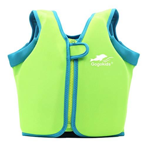 Vine Swim Vest Learn-to-Swim Floatation Jackets Training Vest for Kids (2-6 Years)