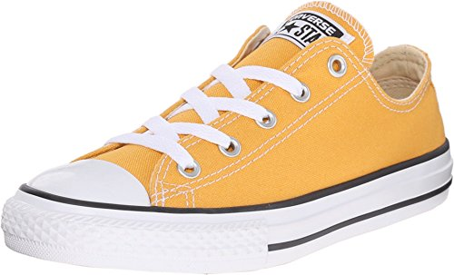 CONVERSE KIDS ALL STAR LOW SHOES SOLAR ORANGE SIZE 13.5